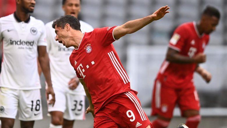 Bayern Munich ta lallasa mu amma kwallayen basu kai wa'yanda suka zirawa Brcelona ba, a cewa Frankfurt bayan Munich ta cisu 5-0