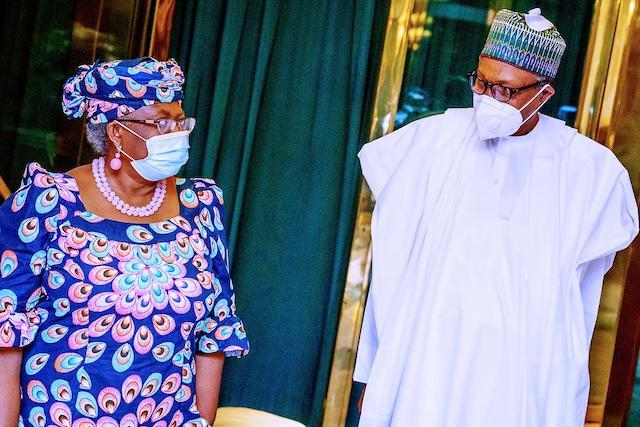 PDP ta jinjinawa shugaba Buhari kan goyon bayan Ngozi Okonjo Iwaela