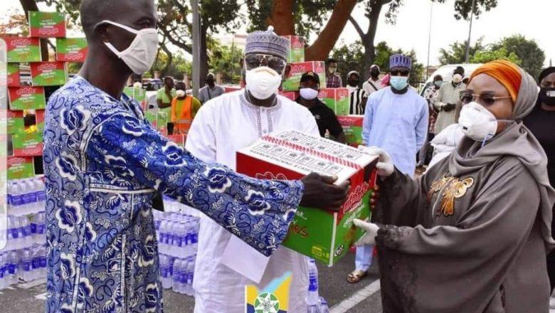 Bayan Wawason kayan Coronavirus/COVID-19 a Wasu Jihohi, Ministar Abuja na ta nanata sanarwar cewa su dai basu boye kayan tallafin ba