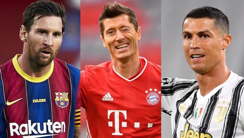 Robert Lewandowski ya doke Ronaldo da Messi yayin daya yi nasarar lashe kyautar gwarzon dan wasan shekara