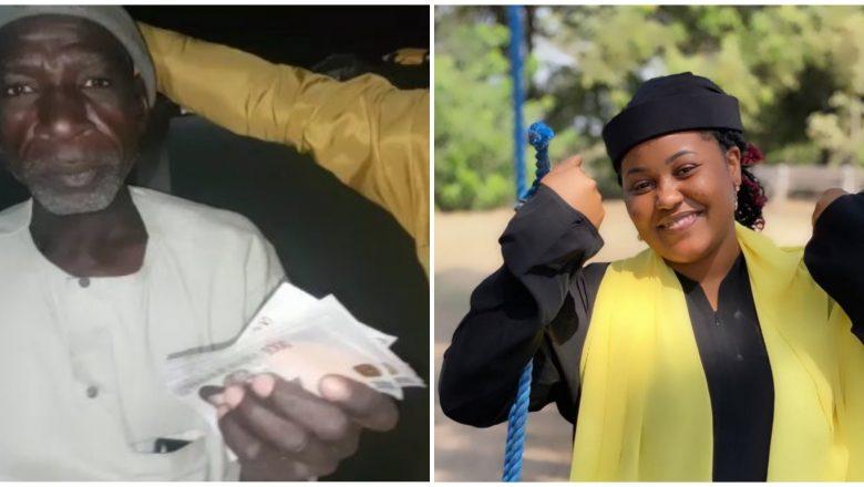 Bidiyo: Hadiza Gabon ta baiwa Tsohonnan da yace yana sonta da aure kyautar Dubu Dari 2