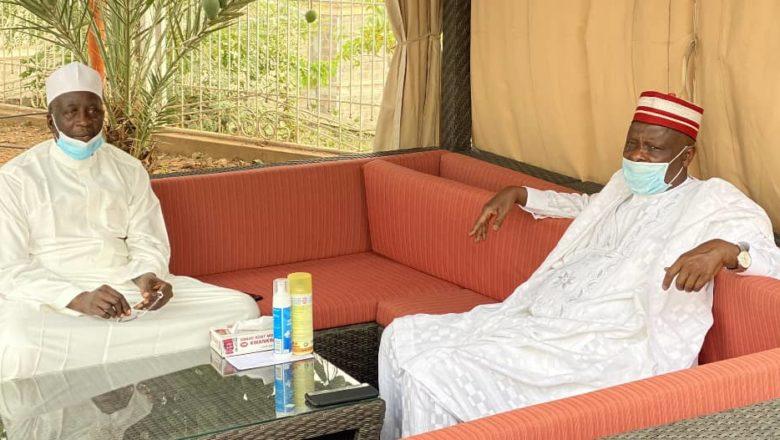 Bafarawa ya ziyarci Kwankwaso domin yi masa ta'aziyyar rashin Mahaifinsa
