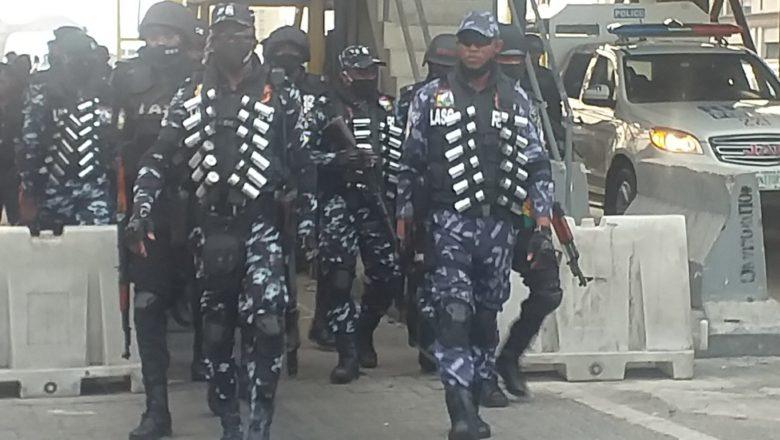 An kai fiye da yansanda 100 Lekki Toll Gate dan hana zanga-zangar SARS karo na 2