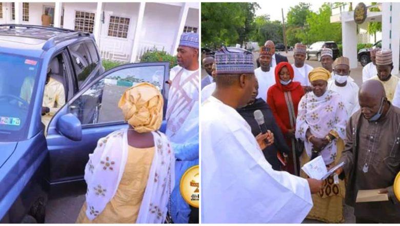 Hotuna:Gwamna Zulum ya karrama Likita dan jihar Ogun da Miliyan 13.9 da kuma dankareriyar Mota saboda sadaukar da rayuwarsa yayin hare-haren Boko Haram