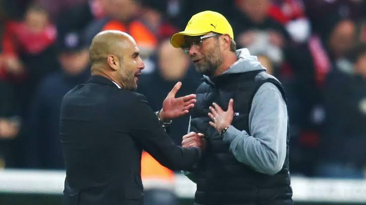Liverpool Vs. Manchester City: Babu wanda nake tsoron haduwa dashi>>Guardiola mayarwa da Klopp martani