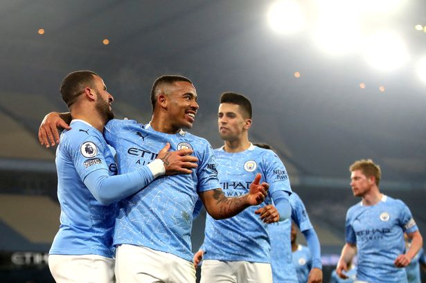 Manchester City ta kafa irin tarihinta na samun nasara a wasanni 28 jere bayan ta doke Wolves daci 4-1