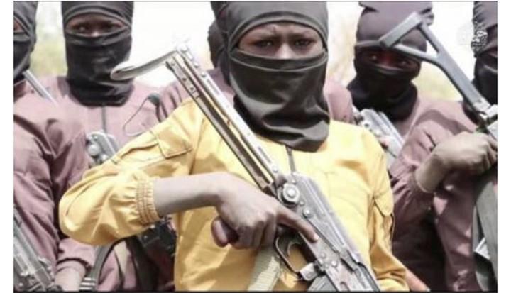 Hotunan Yanda Boko Haram kewa kananan yara Horon Harbi