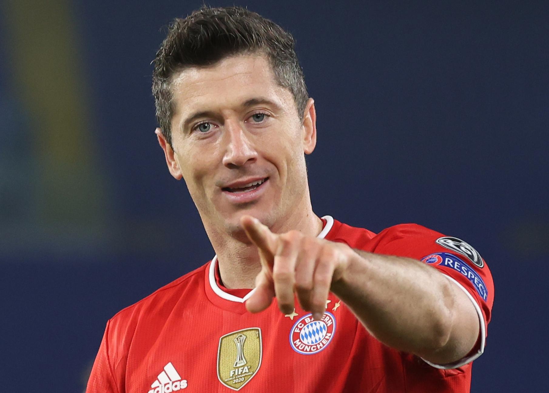 Lewandowski yaci kwallaye uku yayin da Bayern Munich ta lallasa Dortmund daci 4-2