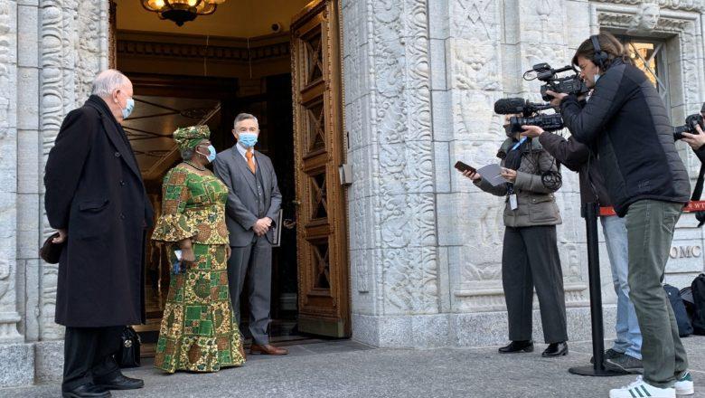 Hotunan yanda Ngozi Okonjo Iwaela ta fara aiki a matsayin Daraktar Cibiyar Kasuwanci ta Duniya, WTO