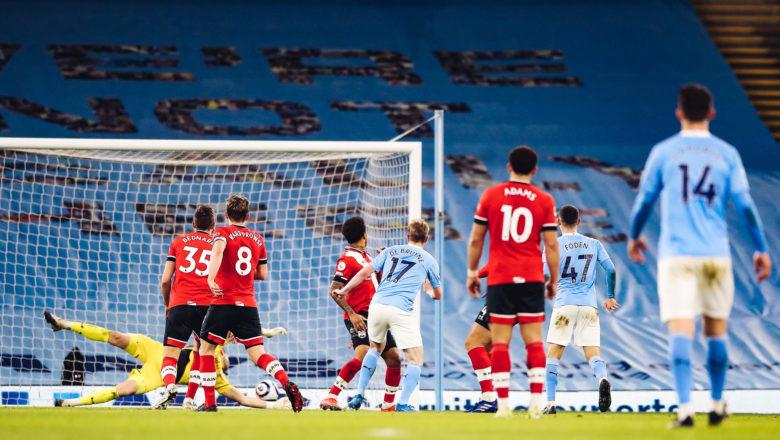 Manchester City ta fara jagoranci da maki 14 a saman teburin Premier League bayan ta doke Sheffield United daci 5-2