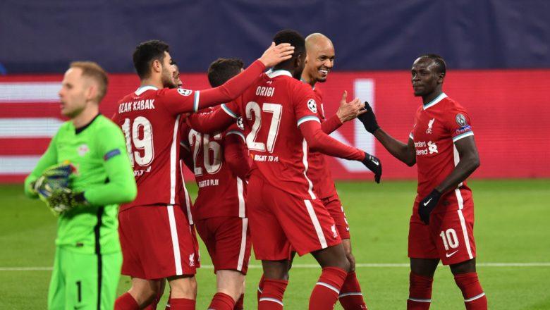 Champions League: Liverpool ta share gwagwarmayar da take sha a Premier League, ta lallasa Leipzig daci 2-0