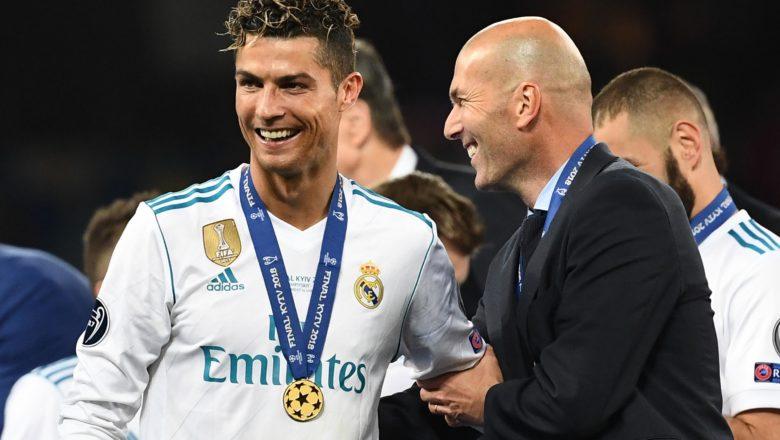 """""""Da yiyuwar Cristiano Ronaldo ya dawo Real Madrid"""" Zidane"""