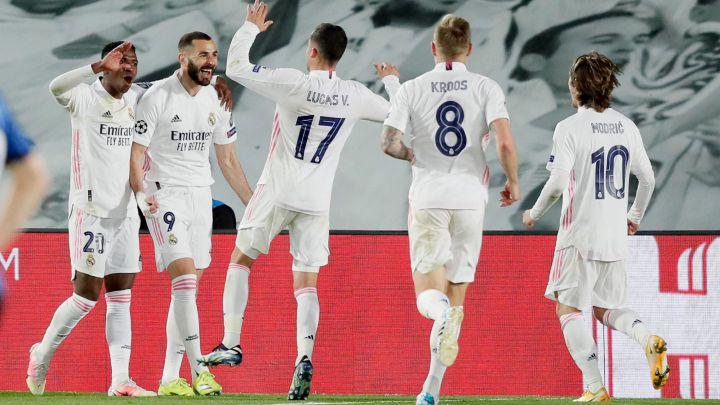 Madrid ta cancanci buga wasan kusa dana kusa dana karshe a gasar zakarun nahiyar turai bayan ta lallasa Atalanta daci 4-1 a wasannin gida da waje