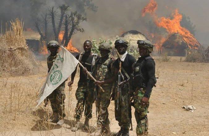 Sojojin Najeriya sun kawar da 'yan ta'addan Boko Haram da ke dasa bama-bamai a Borno