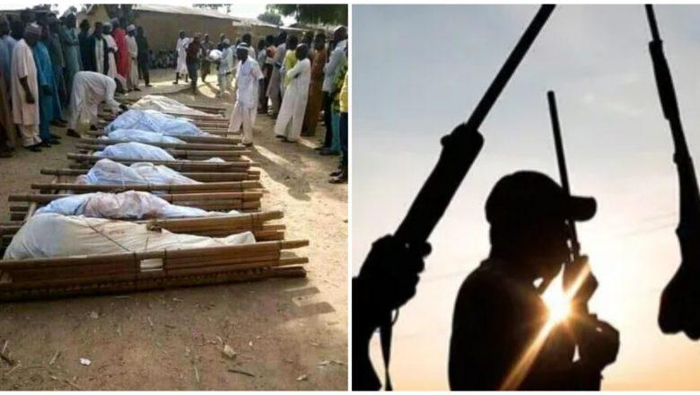 Da Duminsa: Innalillahi wa inna ilaihi raji'un: Gawarwakin mutane 15 da 'yan Bindiga suka kashe a Sokoto a daren Jiya