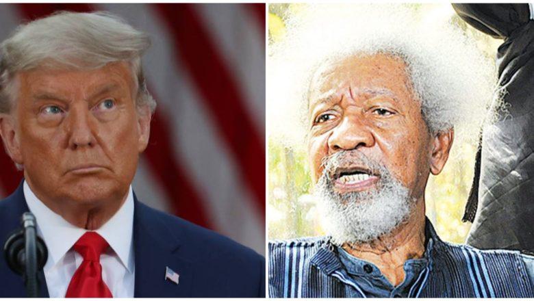 Duk sanda na hadu da Donald Trump sai na falla masa mari irin na 'yan Najeriya>>Farfesa Wole Soyinka