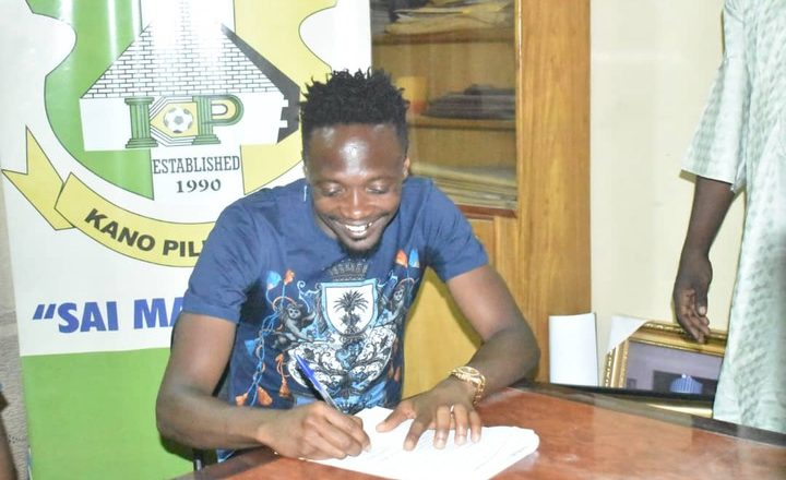 Kyauta zan bugawa Kano Pillars wasa>>Ahmed Musa