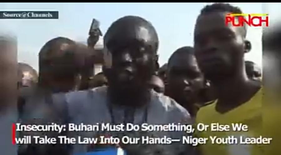 Ka yi wani Abu akan matsalar Tsaro ko mu dauki doka a hannun mu>>Matasan Jihar Naija ga Shugaba Buhari