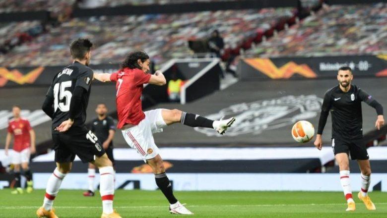 Manchester United ta cancanci buga wasan kusa dana karshe a gasar Europa bayan ta doke Granada daci 4-0 a wasannin gida da waje