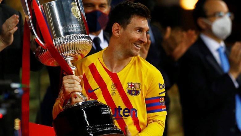 Messi ya zamo dan wasa mafi yawan kwallaye a wasan karshe na gasar Copa Del Rey, bayan ya taimakawa Barca ta doke Bilbao daci 4-0 ta lashe kofin