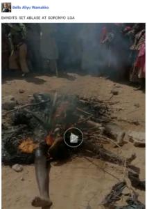 Kalli hotunan yanda Jama'a a Sokoto suka babbake wata mata 'yar bindiga da abokan ta'asarta bayan da ta cika bakin cewa ansha kamata ana sakinta