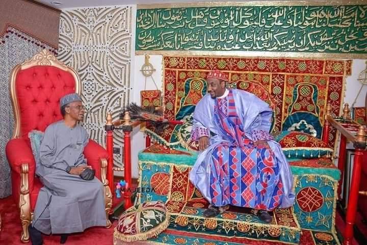 Hotuna: Tsohon Sarkin Kano, Muhammad Sanusi II ya je Kaduna yin Sallah