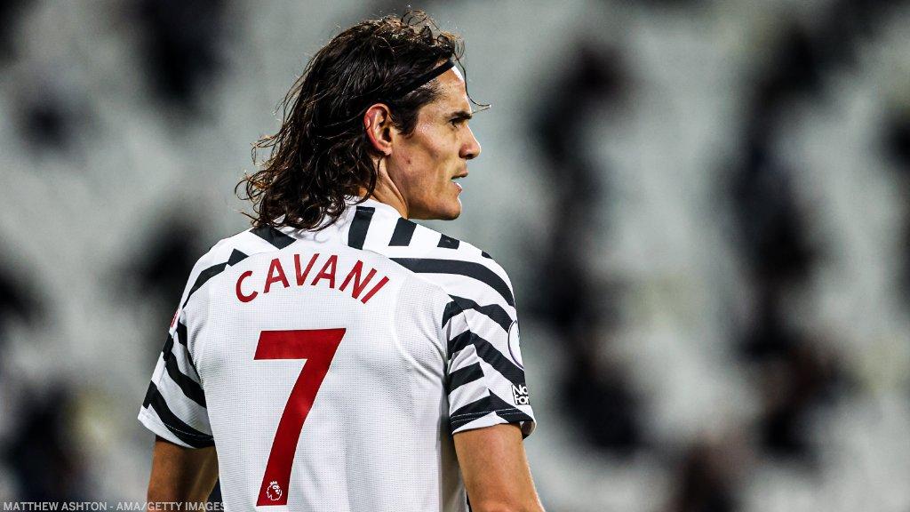Edinson Cavani ya sabunta kwantirakin shi a Manchester United