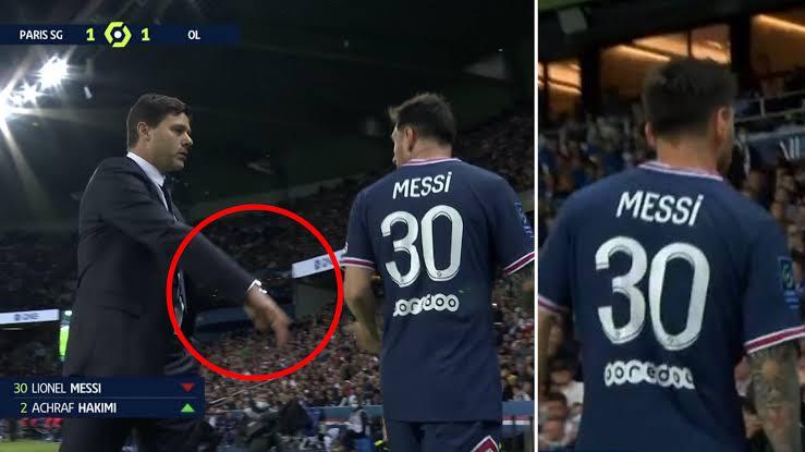 Kalli abinda Messi yawa kocin PSG da ya jawo cece-kuce