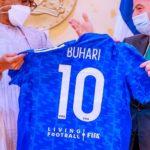 Kalli rigar kwallon shugaba Buhari da lambarsa