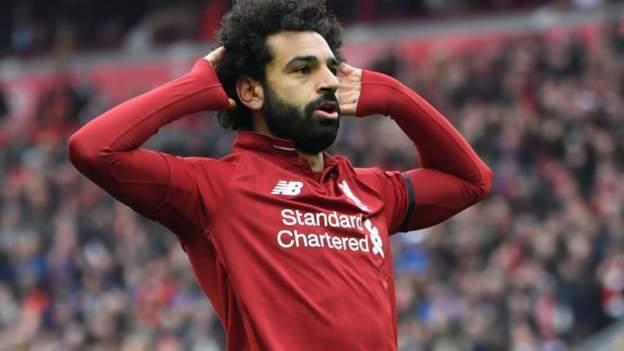 Mohamed Salah ya ci kwallo na 100 a Premier League